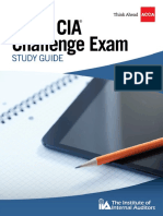 IIA's ACCA CIA Challenge Exam Study Guide