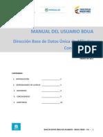 Manual Del Usuario BDUA v-6