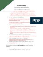 Copyright Worksheet[1]