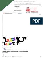 ¿Quién Teme a Lo Queer_ – Orientaciones Radicales o La (Im)Posible Horizontalidad _ 1 de Cada 10
