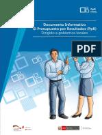 Documento Inf PpR GL 2014