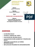 Prospección y Caracterizacion Eólica. G.Y