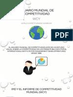 Anuario Mundial de Competitividad