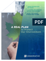 Conservative Party Climate Plan