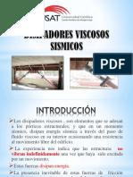DISIPADORES VISCOSOS SISMICOS