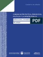 Comunicacion Politica Periodistas Politicos y La Opinion Publica 2