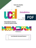 Guia de Estadistica 2019-I
