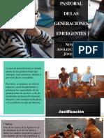 Pastorales Emergentes Niños, Adolescentes y Jóvenes