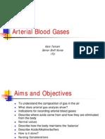Vent Abg Arterial Blood Gases