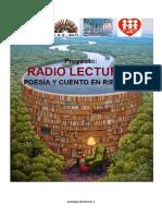 Proyecto Radio Lecturas en Riberalta