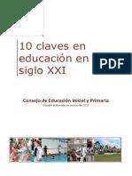10 claves en educación en el siglo XXI