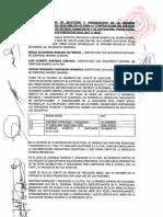 Acta de la Segunda Convocatoria N° 001-2019-FSM-CEE-SC (Auditoria 2016-2018)