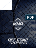 MMA Off Camp Training