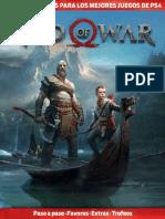 Guía completa de God of War para PS4. Todos los secretos