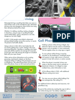 OTS Fact Sheet Distracted Driving 2019 Final