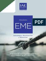 EME Estrategia Movilizacion Ejecucion