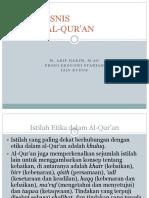 etika Bisnis Dalam Al-quran