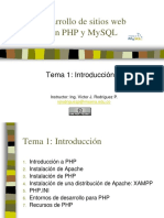 1. Introduccion a Php Vj