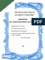 Monografia La Educacion Basica Alternativa Docx