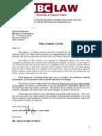 Final Demand Letter a