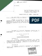 Decreto Exento n 5869 Mayo de 1997 Reglamento Especial de La Licenciatura en Filosofia