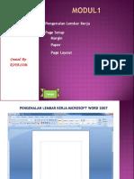 Modul 1 Pengenalan Dan Page Setup