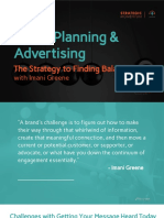 Media Planning and Advertising