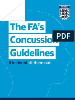 The Fa Concussion Guidelines 2015