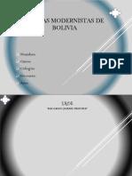 poesias modernistas de bolivia