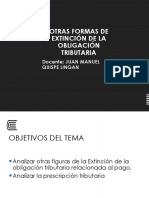 Semana 9_Derecho Tributario 2da Parte PRESCRIPCIÓN