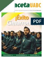 Edición Especial Egresados Junio 2019-Gaceta 418