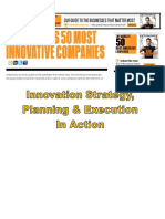 #Fast Company - 50 Most Innovative Companies for 2012