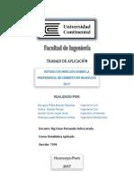 Estudio de Mercado Sobre La Preferencia de Cemento en Huancayo
