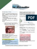 Patologia Médica 2 - Fiebre Reumática