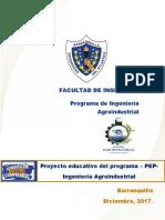 PEP Ingenieria Agroindustrial 2017