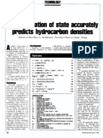 Raiza, Mansoori.-simple Equation of State Accurately Predicts Hydrocarbon Densities