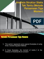 Kuliah 12_Analisis Struktur_Teorema 3 Momen