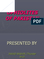 Ophiolites of Pakistan