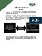 3. Ejemplo Plan de Mejoramiento