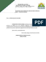 Def  - Feira Grande x Jailson Soares Lira - cobrança - verbas salariais e férias -  0700786-59.2018.8.02.0060