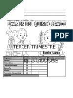 TERCER TRIMESTRE 5TO