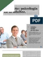 Psicología de La Adultez