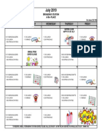7 -2019 July Activity Calendar Broadway