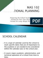 EDUCATIONAL PLANNING