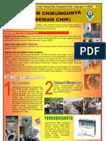 Poster Demam Chikungunya Bidang PRL tahun 2010