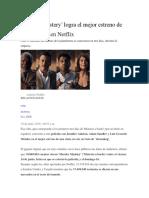 Murder Mystery' Logra El Mejor Estreno de Una Película en Netflix