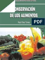 Conservación de Alimentos - Díaz, R.