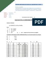 Capacidad Portante -CAL 01