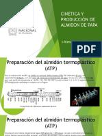 Cinetica y Producción Del Almidon de Papa-1