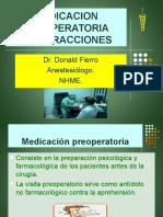 MEDICACION PREOPERATORIA